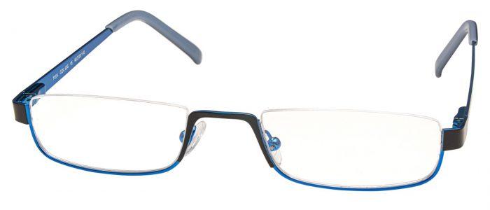Col. 655 schwarz blau glänzend
