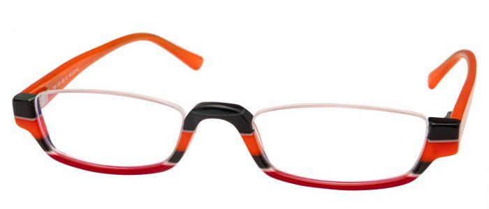 Col. 628 schwarz orange rot verlauf