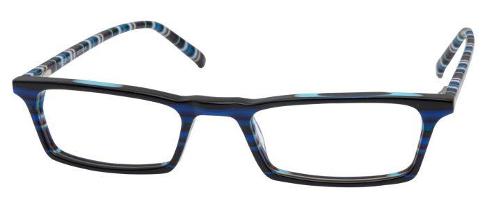 Col. 241 blau schwarz/ Bügel bunt